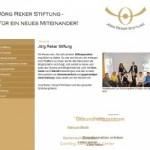 Jörg Reker Stiftung Projekte