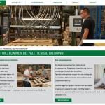 Palettenbau Baumann mit neuer Website