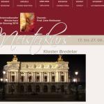 Meisterkurs Kloster Bredelar Website