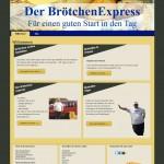 BrötchenExpress im Internet