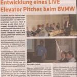 Elevator Pitch bei BVMW
