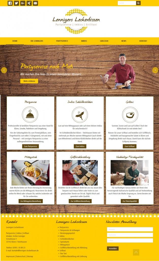Lenniger-Website