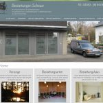 Website Bestattungsunternehmen
