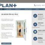 Mein Aufzug Produkt-Website