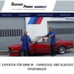 Neuanstrich BMW M Werkstatt